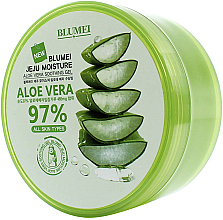 Parfums et Produits cosmétiques Gel apaisant à l'aloe vera - Blumei Jeju Moisture Aloe 97% Soothing Gel