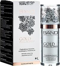 Parfums et Produits cosmétiques Booster peptidique anti-rides à la glycérine pour visage - Bandi Professional Gold Philosophy Wrinkle Reducing Peptide Booster
