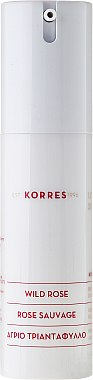 Crème de jour à l'huile de rose sauvage - Korres Wild Rose Brightening & First Wrinkles Day Cream — Photo N2