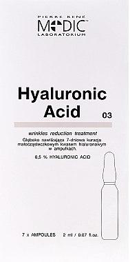 Ampoules à l'acide hyaluronique pour le visage - Pierre Rene Medic Laboratorium Vital Serum