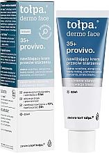 Parfums et Produits cosmétiques Crème de jour au beurre de karité - Tolpa Provivo 35+ Moisturising Anti-Age Cream