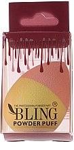 Parfums et Produits cosmétiques Éponge à maquillage, rose-jaune - Bling Powder Puff