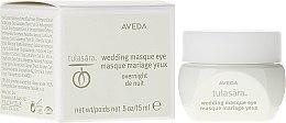 Parfums et Produits cosmétiques Masque de nuit à l'huile d'olive pour contour des yeux - Aveda Tulasara Wedding Masque Eye