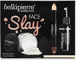 Parfums et Produits cosmétiques Coffret cadeau - Bellapierre Face Slay Kit Fair/Medium (stick/8.6g+powder/6.5g+spray/70ml+sponge/1pcs)