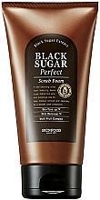 Parfums et Produits cosmétiques Gommage moussant à l'extrait de sucre noir pour visage - SkinFood Black Sugar Perfect Scrub Foam