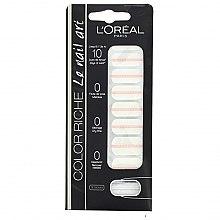 Parfums et Produits cosmétiques Autocollants pour ongles - L'Oreal Paris Stickers Color Riche Le Nail Art