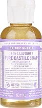 Parfums et Produits cosmétiques Savon liquide à la lavande - Dr. Bronner's 18-in-1 Pure Castile Soap Lavender