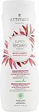 Parfums et Produits cosmétiques Shampooing à l'huile d'avocat et grenade - Attitude Shampoo Color Protection Avocado Oil & Pomegranate