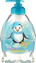 Parfums et Produits cosmétiques Gel bain et douche à l'arôme de melon pour enfants, Le pingouin farceur - Chlapu Chlap Bath & Shower Gel
