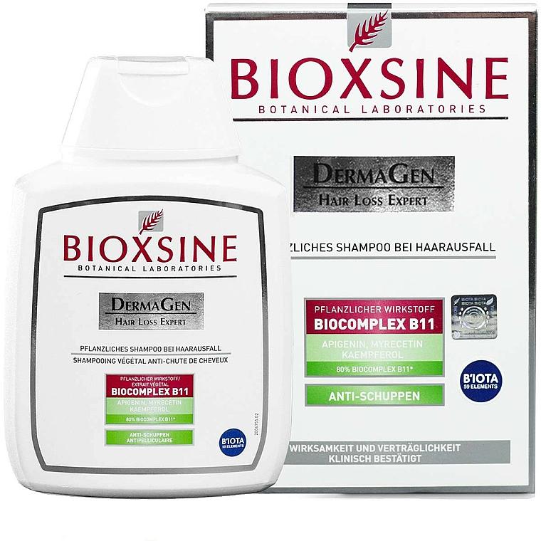 Shampooing végétal à l'extrait d'ortie et de camomille - Biota Bioxsine Dermagen Anti-Hair Loss Herbal Shampoo Anti-Dandruff