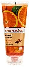 Parfums et Produits cosmétiques Gommage corporel à l'orange et cannelle - Fresh Juice Orange & Cinnamon