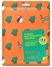Parfums et Produits cosmétiques Patchs à l'extrait de cactus pour visage et corps - Patch Holic Sticker Soothing Patch Vacation