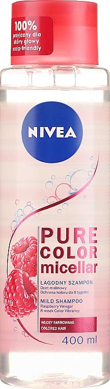 Shampooing micellaire au vinaigre de framboise - Nivea Pure Color Micellar Shampoo