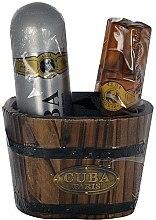 Parfums et Produits cosmétiques Cuba Gold - Coffret (lotion après-rasage/100ml + déodorant/200ml)