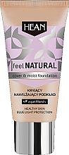 Parfums et Produits cosmétiques Fond de teint hydratant - Hean Feel Natural Cover & Moist Foundation