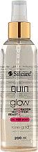 Parfums et Produits cosmétiques Huile sèche scintillante pour le corps - Silcare Quin Glow Dry Oil for Body Rose Gold