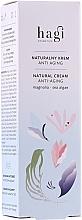 Parfums et Produits cosmétiques Crème à l'extrait d'algues pour visage - Hagi Natural Face Cream Anti-aging