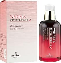 Parfums et Produits cosmétiques Émulsion à l'extrait de ginseng pour visage - The Skin House Wrinkle Supreme Emulsion