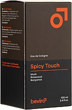 Parfums et Produits cosmétiques Beviro Spicy Touch Men?s Only - Eau de Cologne