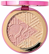 Parfums et Produits cosmétiques Enlumineur - Pur X Barbie Confident Glow Signature Illuminating Highlighter