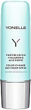 Parfums et Produits cosmétiques Crème de jour à l'acide hyaluronique - Yonelle Fortefushon Hyaluronic Acid Forte Color Change Day Cream SPF30