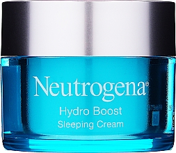 Parfums et Produits cosmétiques Crème de nuit à l'acide hyaluronique - Neutrogena Hydro Boost Sleeping Cream
