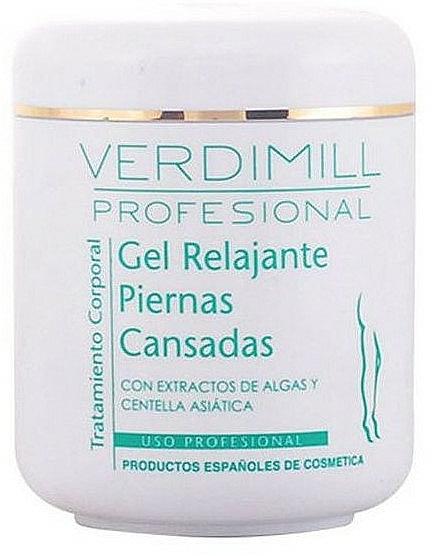 Gel apaisant à l'extrait d'algues pour jambes - Verdimill Professional Relaxing Gel — Photo N1