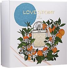 Parfums et Produits cosmétiques Chloe Love Story - Coffret (eau de parfum/50ml + lotion corporelle/100ml)
