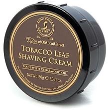 Parfums et Produits cosmétiques Crème à raser à l'huile de bois de cèdre, Tabac - Taylor of Old Bond Street Tobacco Leaf Shaving Cream Bowl