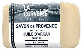 Parfums et Produits cosmétiques Savon de Provence à l'huile d'argan - La Corvette Provence Soap Argan Oil