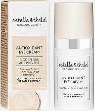 Parfums et Produits cosmétiques Crème antioxydante à l'extrait de myrtille pour contour des yeux - Estelle & Thild Biodefense Antioxidant Eye Cream