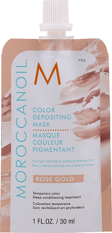 Masque de coloration temporaire des cheveux - MoroccanOil Color Depositing Mask