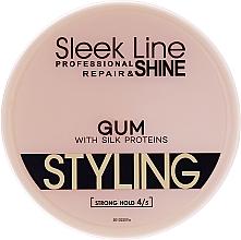 Parfums et Produits cosmétiques Gel coiffant aux protéines de soie - Sleek Line Styling Gum With Silk