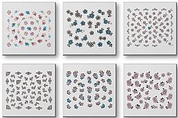 Parfums et Produits cosmétiques Autocollants pour ongles 42942 - Top Choice Nail Decorations Stickers Set