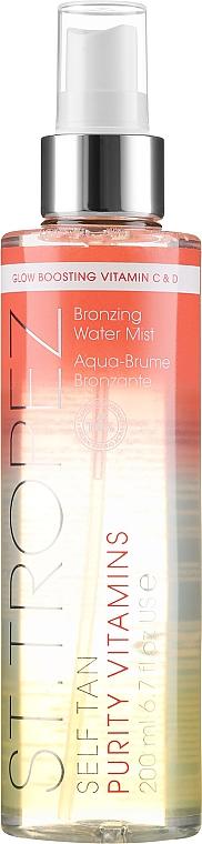 Brume auto-bronzante aux vitamines C et D pour corps - St. Tropez Self Tan Purity Vitamins Bronzing Water Body Mist — Photo N1