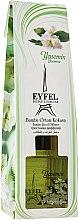 Parfums et Produits cosmétiques Bâtonnets parfumés, Jasmin - Eyfel Perfume Reed Diffuser Jasmin