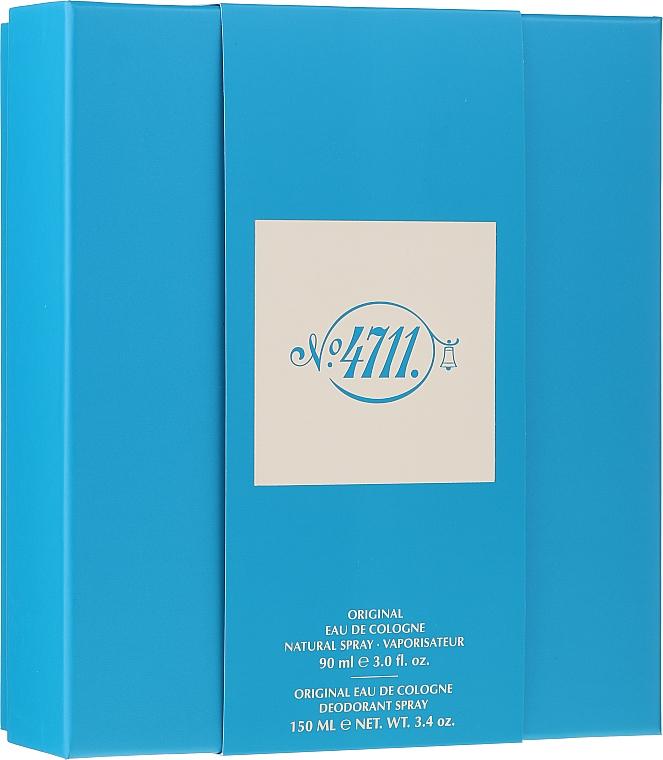 Maurer & Wirtz 4711 Original Eau de Cologne - Set (eau de cologne/90ml + déodorant/90ml) — Photo N1