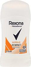 Parfums et Produits cosmétiques Déodorant stick anti-transpirant 48h - Rexona Motionsense Workout Hi-impact 48h Anti-perspirant