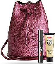 Parfums et Produits cosmétiques Pupa - Set (mascara/9ml + gel scintillant visage et corps/25ml + sac)