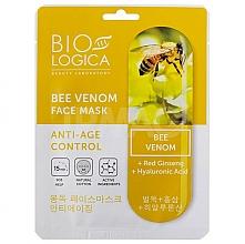 Parfums et Produits cosmétiques Masque tissu au venin d'abeille pour visage - Biologica Bee Venom