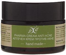 Parfums et Produits cosmétiques Crème pharma anti-acné à l'huile d'avocat pour visage - Hristina Cosmetics Pharma Cream Anti Akne