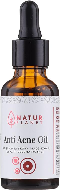 Huile de soin pour la peau du visage - Natur Planet Anti Acne Oil