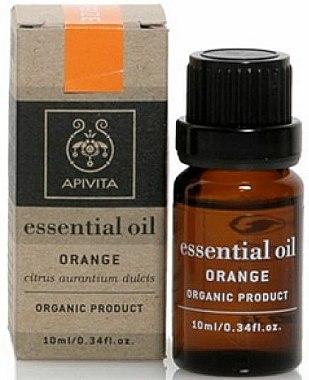 Huile essentielle d'orange bio 100% naturelle - Apivita Aromatherapy Organic Orange Oil — Photo N1