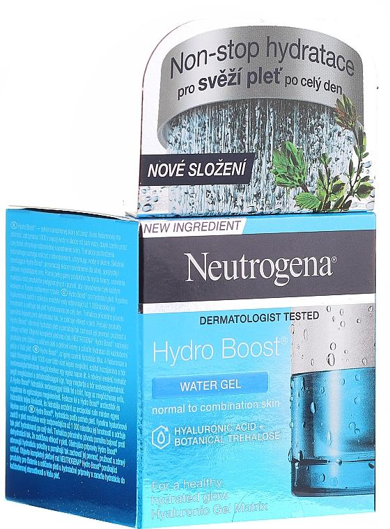 Gel à l'acide hyaluronique pour visage - Neutrogena Hydro Boost Water Gel For Normal & Combination Skin — Photo N1