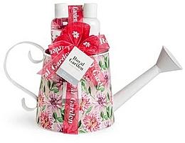 Parfums et Produits cosmétiques Coffret cadeau - IDC Institute Royal Garden (sh/g/150ml+b/lot/150ml+salt/100g+sponge)