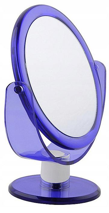Miroir à poser double face 499766, violet - Inter-Vion