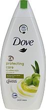 Parfums et Produits cosmétiques Gel douche à l'huile d'olive - Dove Protect Care Body Wash
