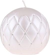 Parfums et Produits cosmétiques Bougie décorative ronde 10 cm, blanc - Artman Florence