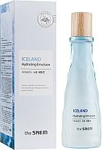 Parfums et Produits cosmétiques Émulsion à l'eau minérale d'Islande pour visage - The Saem Iceland Hydrating Emulsion