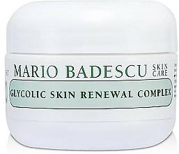 Parfums et Produits cosmétiques Crème à l'acide glycolique pur visage - Mario Badescu Glycolic Skin Renewal Complex
